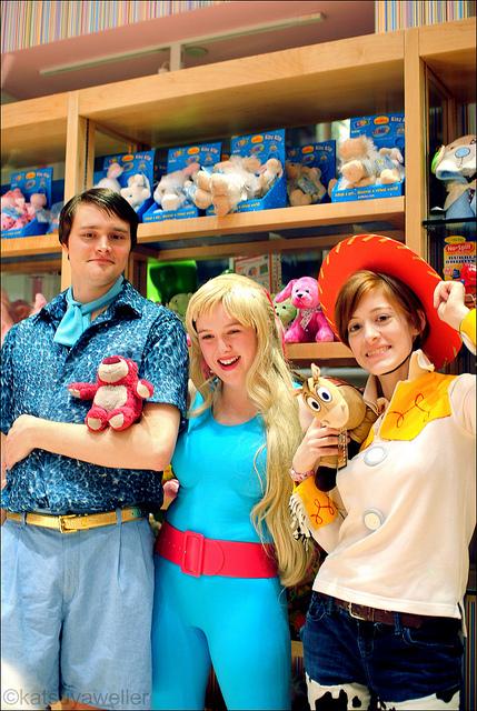 Toy Story 3 – Barbie & Ken