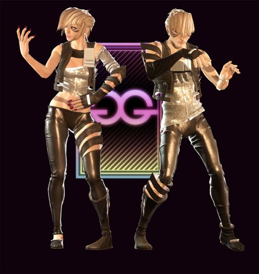 Dance Central - The Glitterati
