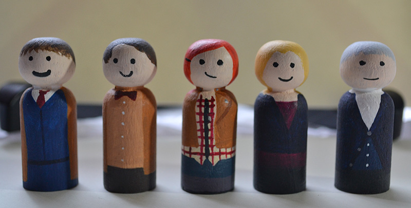Wedding Pegs - Doctor Who