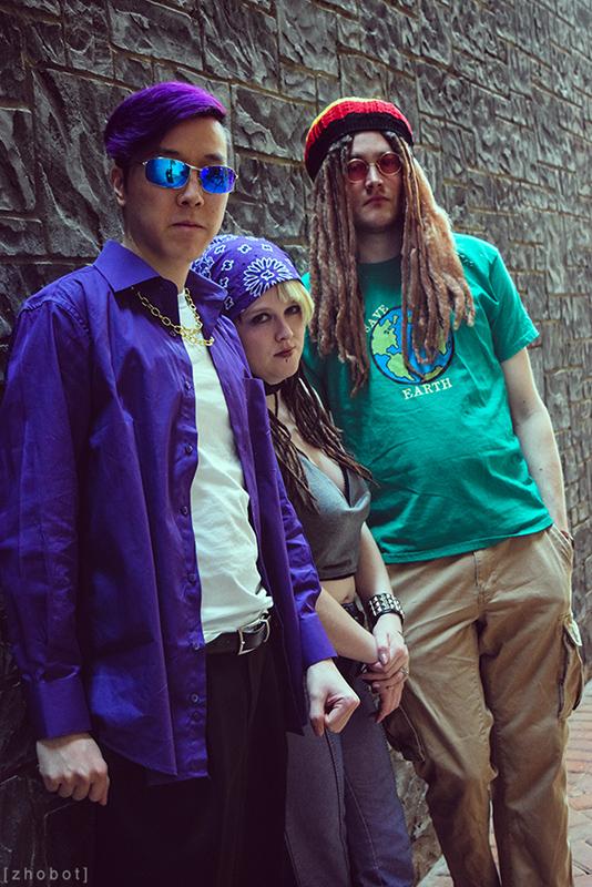 Johnny Gat, Shaundi, & DJ Veteran Child - Saints Row 2