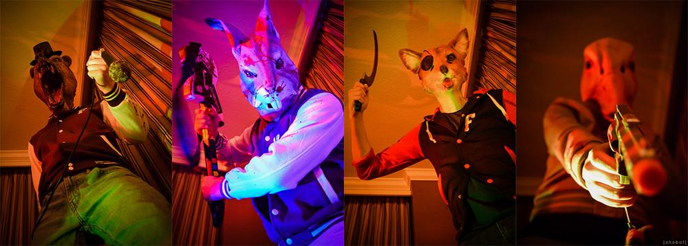 Hotline Miami + Five Nights at Freddy's